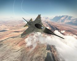 Jet fighter by imonedesign