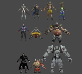 Overwatch (Males) by roodedude