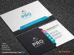 Creative Business Card 001 by khaledzz9