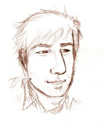 Slightly more real Aeron - pencils only by turukhtan