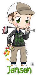 Keychain Jensen by HeroesDaughter