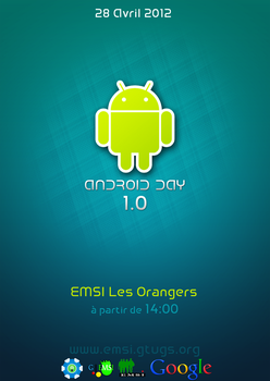 Android Day 1.0 poster by jackred5
