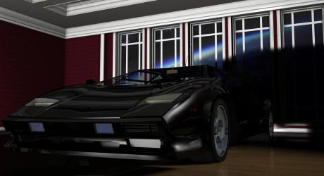 Lamborghini Countach by TheRedCrown