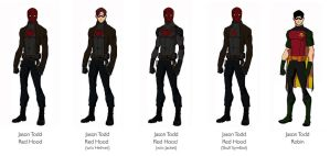 Red Hood Concept Design by jasonh537