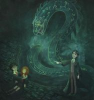 The Chamber of Secrets by attkcherry