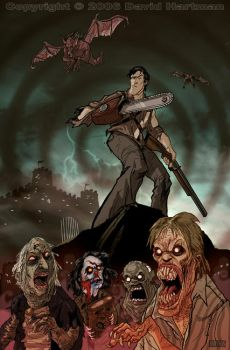 EVIL DEAD by Hartman by MonsterMovies