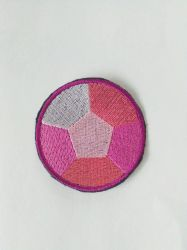 Rose quartz Sew On Embroidered Patch Steven by Juliefoo