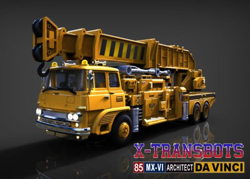 X-Transbots: Da Vinci (alt mode) by 539Designs