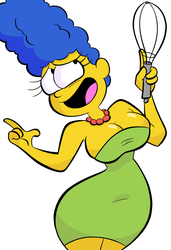 Marge Simpson by Tempson