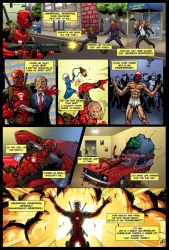 Deadpool Theme Song Comic by Saqism