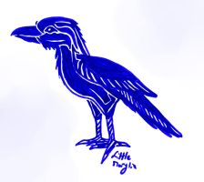 Challenge Day 05 - Raven by ALittleLady