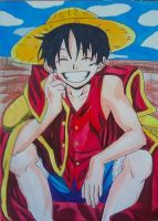 One piece Luffy By Demy by Demy111