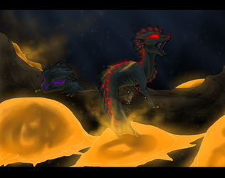 Hatching of the Leviathans by CoffeeAddictedDragon