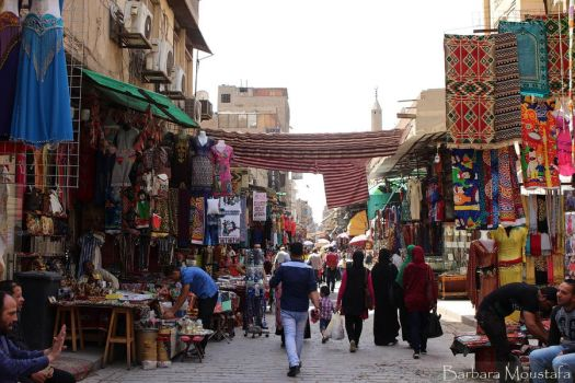 Colours and Textures of Cairo, Egypt by rustymermaid