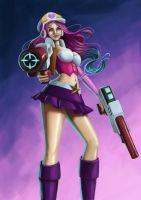 Arcade Miss Fortune by pooky-cherie