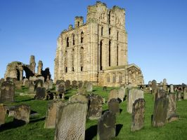 Tynemouth Priory by omick