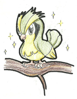 Shiny Pidgey by TheLittleNymph