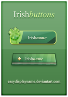 Irish Buttons by easydisplayname
