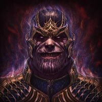 Thanos by saadirfan