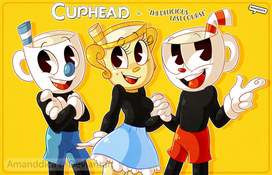 Cuphead: The Delicious Last Course by Amanddica