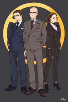 Kingsman by kasumivy