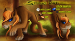 Reference Sheet - Spring Wind (Cougar Pony) by jamescorck
