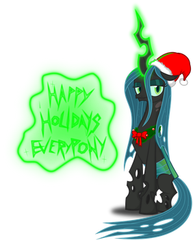 Queen of the Christmaslings by zimvader42