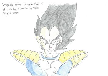 Vegeta strongly believes he can beat Goku by Shreddinghead