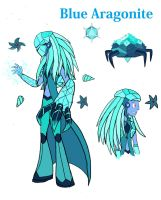 Reformed - Blue Aragonite by TheWatcherofWorlds