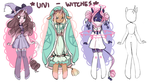 Unicorn Witches - OPEN ADOPTS by lana-jay