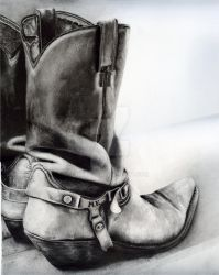 End of The Day..Cowboy's Life by killaby