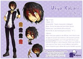 - Character Reference - Ukyo - by Adween-art
