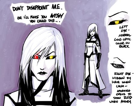 Yet another humanized GLaDOS by DeepChrome