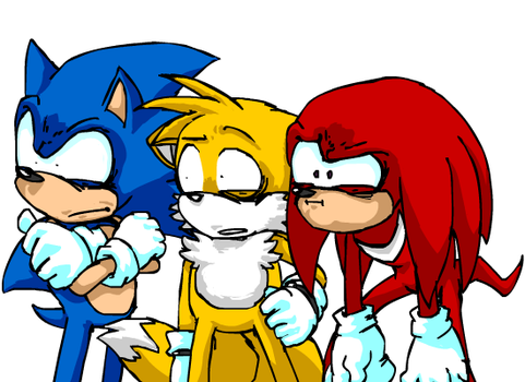 Team Sonic - Captions UPDATED by Aerobian-Angel