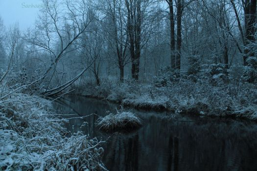Black Water, Winter Wonder by Vargathrone