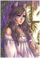 wisteria by pencil-butter