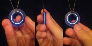 Tron Disk Necklace by ammnra