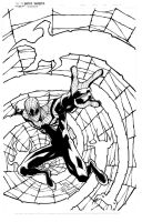 Superior Spider-man print inks by JoeyVazquez