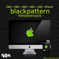 'blackpattern'- wallpaperpack by 2tobi7