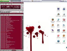 :: bloody desktop :: by synergia