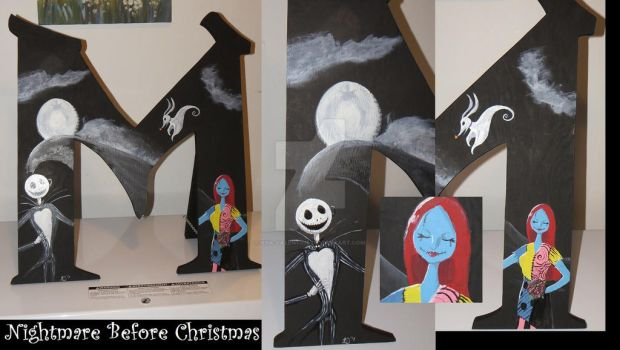 Wedding Decor - Nightmare Before Christmas M by Kya-Valentine