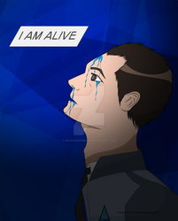 I AM ALIVE (Detroit: Become Human. Connor) by VeronicaSammy13