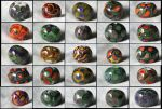 Moretti Glass Beads - I by froggynaan