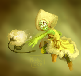 FLOWERS FOR YOUUUUUU - Peridot by Violet-ERA