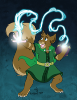 [Commission] Arcan's Spell by raizy