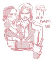happy fathers day (edward/little haytham) by Mcpricorn