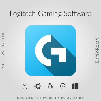 Logitech Gaming Software - Icon Pack by DaniloRosari