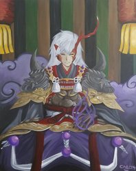 One Painting of Ibaraki Doji by DNLINK