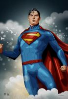 Superman (Christopher Reeve Tribute) by dimitrosw