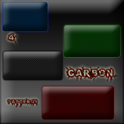 Carbon Patterns for Photoshop by rodeo111